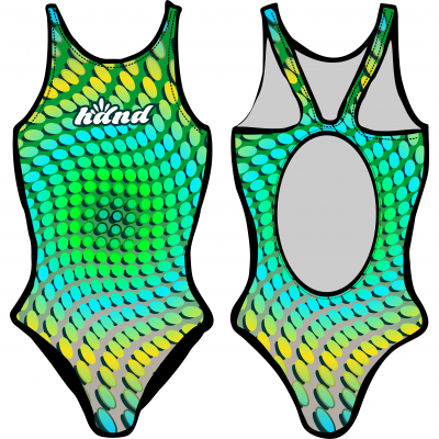 Woman One Piece Swimsuit FISH