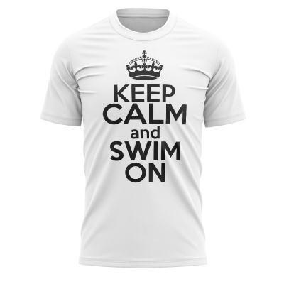 Tshirt nuoto KEEP CALM AND SWIM