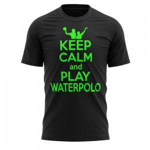 Tshirt waterpolo KEEP CALM WATERPOLO