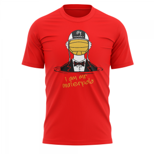 Tshirt pallanuoto I AM MR. WATERPOLO