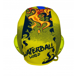 Professional Water Polo Cap FIREBALL - PERFORATED CLOTH