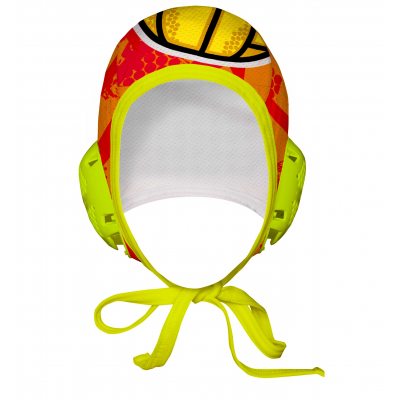 Professional Water Polo Cap DRAGON - PERFORATED CLOTH