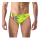 Man Swimsuit I AM WATERPOLO GREEN