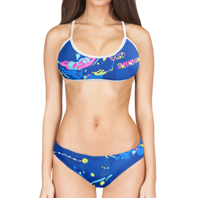 Woman Two Piece Swimsuit SWIMMING