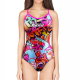 Woman One Piece Swimsuit GRAFFITI