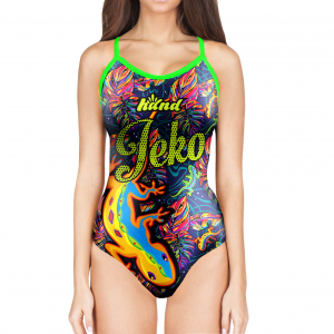 Woman One Piece Swimsuit JEKO