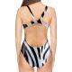 Woman One Piece Swimsuit ZEBRA
