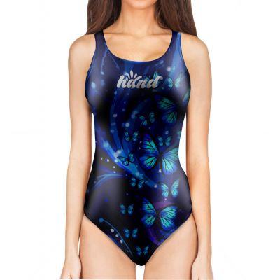 Woman One Piece Swimsuit BUTTERFLY