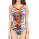 Woman One Piece Swimsuit FLAMINGO