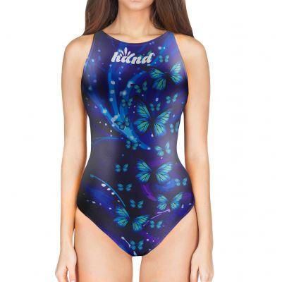 Woman Waterpolo Swimsuit BUTTERFLY