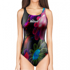 Woman One Piece Swimsuit Skin LIGHT
