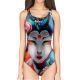 Woman One Piece Swimsuit GEISHA