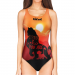 Woman One Piece Swimsuit THE KING