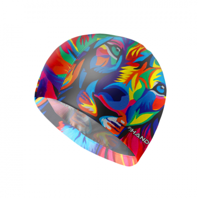 Headcap Polyester LION