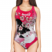 Woman One Piece Swimsuit Skin GEISHA