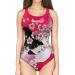 Woman One Piece Swimsuit Skin GEISHA