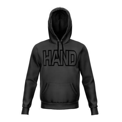 Sweatshirt with contrasting hood