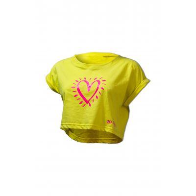 T-shirt women's short sleeve mod. Heart