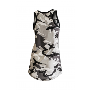 Tank Top Woman long mod. Camu