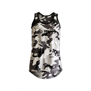 Tank Top man long mod. Camu