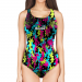 Woman One Piece Swimsuit Military