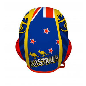 Professional Water Polo Cap AUSTRALIA - PERFORATED CLOTH
