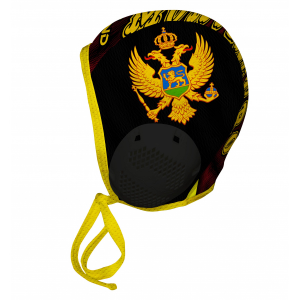 Professional Water Polo Cap MONTENEGRO NEW - PERFORATED CLOTH