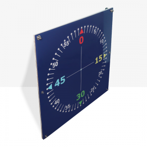 Contasecondi da Piscina a LED Mis. 75 x 75 cm