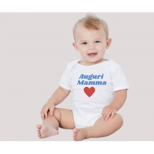 Body baby short sleeve mod. I Love Syncro