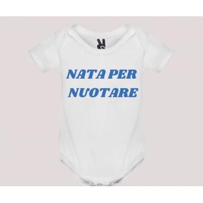 Body neonato m/c mod. Nata/o per Nuotare