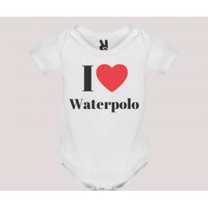 Body neonato m/c mod. I Love Waterpolo