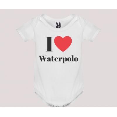 Body baby short sleeve mod. I Love Waterpolo
