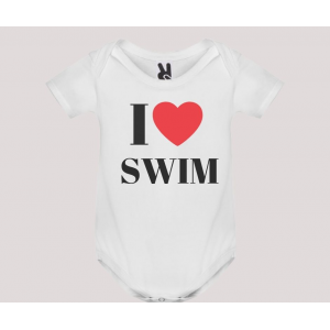 Body baby short sleeve mod. I Love Swim