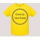 T-shirt bebè m/c mod. Nata/o per Nuotare