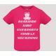 T-shirt baby short sleeve mod. Da Grande Sarò