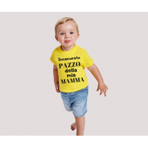 T-shirt bebè m/c mod. Seguirò la tua scia
