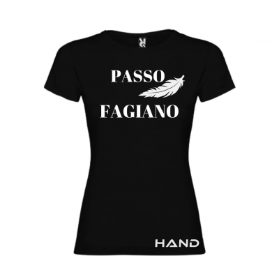 T-shirt woman short sleeve mod. Passo Fagiano