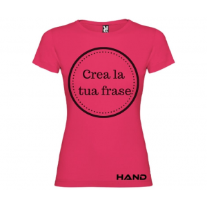 T-shirt donna m/c mod. Nada Mas