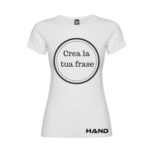 T-shirt woman short sleeve mod. Not