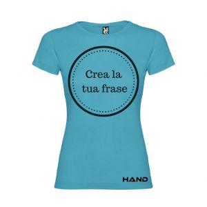 T-shirt donna m/c mod. Unalome