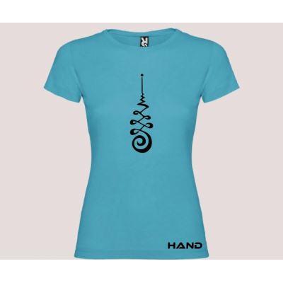 T-shirt woman short sleeve mod. Unalome