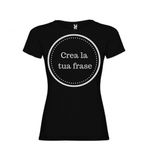 T-shirt donna m/c mod. Sta Senz Pensier