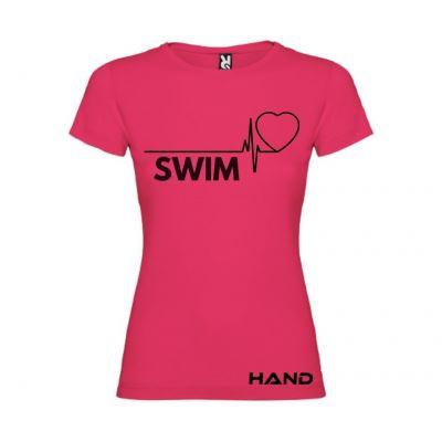 T-shirt woman short sleeve mod. Swim Beat