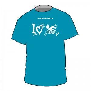 Tshirt swim I LOVE SWIM