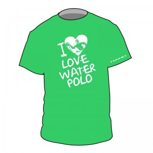 Tshirt waterpolo I LOVE WP