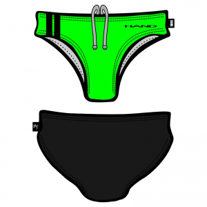 Man Swimsuit bicolor Fluo