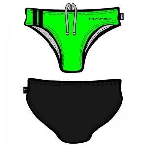 Man Swimsuit bicolor Fluo