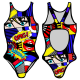 Woman One Piece Canada Swimsuit FUMETTO