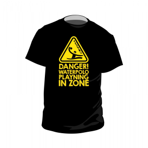 Tshirt waterpolo DANGER