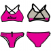 Woman Two Piece Swimsuit FLUO